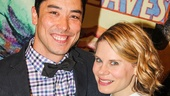 James Yaegashi and Celia Keenan-Bolger of The Oldest Boy.