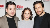 Constellations director Michael Longhurst and stars Ruth Wilson and Jake Gyllenhaal take a parting shot. See the new production beginning December 16, 2014 at the Samuel J. Friedman Theatre!