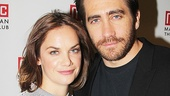 Ruth Wilson and Jake Gyllenhaal play a physicist and a beekeeper, respectively, in Constellations by Nick Payne.