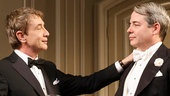 Martin Short as James Wicker and Matthew Broderick as Peter Austin in It's Only A Play
