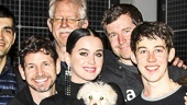 The Curious Incident of the Dog in the Night-Time - Backstage - Alex Sharp - Katy Perry