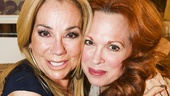 Finding Neverland - Backstage - 5/15 - Kathie Lee Gifford - Carolee Carmello