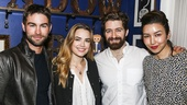 Finding Neverland - Backstage - 5/15 - Chase Crawford - Rebecca Rittenhouse - Matthew Morrison - Renee Puente