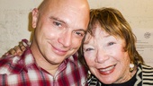 Fun Home - Backstage - 5/15 - Michael Cerveris - Shirley MacLaine