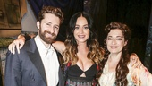 Finding Neverland - Backstage - 8/15 - Katy Perry - Matthew Morrison, Katy Perry and Laura Michelle Kelly.