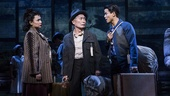 Lea Salonga as Kei, George Takei as Sam Kimura and Telly Leung as Young Sam