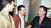 Photo Op - Bruce Springsteen at Jersey Boys - Daniel Reichard - Christian Hoff - Bruce Springsteen