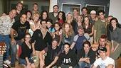 Photo Op - Grease Recording Session - cast
