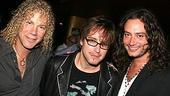 Photo Op - Grease Opening - David Bryan - Christopher Jahnke - Constantine Maroulis