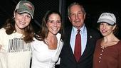 Photo Op - Mayor Bloomberg at Jersey Boys - Erica Piccininni - Michael Bloomberg - Sara Schmidt - Jennifer Naimo