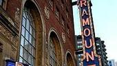 Photo Op - Young Frankenstein opens in Seattle - paramount marquee