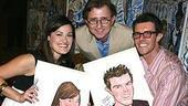 Photo Op - Ashley Brown &amp; Gavin Lee at Sardi&#39;s - Ashley Brown - Thomas Schumacher - Gavin Lee 