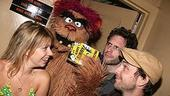 Photo Op - It's Always Sunny in Philadelphia at Avenue Q - Mary Elizabeth Ellis - Trekkie Monster -  Glenn Howerton - Charlie Day - 2