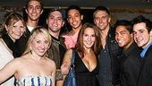 Photo op - Wicked 4th anniversary party - cast