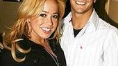 Photo Op - Sabrina Bryan at Avenue Q - Sabrina Bryan - Mark Ballas