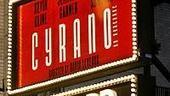 Photo Op - Cyrano opening - marquee