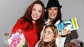 Photo Op - Teri Hatcher at The Little Mermaid - Sierra Boggess - Teri Hatcher - (daughter) Emerson