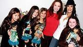 Photo Op - Teri Hatcher at The Little Mermaid - Sierra Boggess - Teri Hatcher - (daughter) Emerson - girlfriends