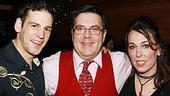 Photo Op - Hairspray holiday party 2007 - Kasey Marino - Kevin Meaney - Susan Mosher