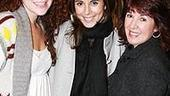 Photo Op - Jamie-Lynn Sigler at Legally Blonde - Amanda Lipitz - Jamie-Lynn Sigler - (mom) Connie