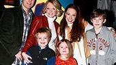 Photo Op - Emily Osment at Little Mermaid - Scott DeFreitas - Maura West - 3 kids - Sierra Boggess