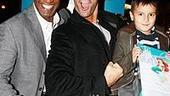 Photo Op - Cameron Mathison at Little Mermaid - Norm Lewis - Cameron Mathison - (son) Lucas