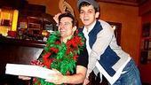 Photo Op - Holidays at Jersey Boys - Dominic Nolfi - Michael Longoria