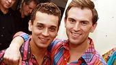 Daniel Reichard&#39;s final performance in Jersey Boys - Michael Longoria - Daniel Reichard 