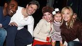 Elisabeth Hasselbeck at The Little Mermaid - Norm Lewis - Sean Palmer - Sierra Boggess - (daughter) Grace - Elisabeth Hasselbeck