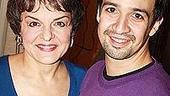 Cynthia Nixon at In the Heights - Lin-Manuel Miranda - Priscilla Lopez