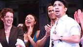 Broadway In the Heights Opening - Lin-Manuel Miranda (gives speech)