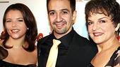 Broadway In the Heights Opening - Lin-Manuel Miranda - Priscilla Lopez - girlfriend Vanessa