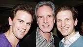 Jersey Boys Celebrate 1000 - Bob Gaudio - Daniel Reichard - Sebastian Areclus (staight ahead)