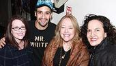 Celebs at In the Heights - Megan Mullally - Lin-Manuel Miranda - Kathy Bates - Olga Merediz