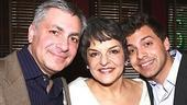 Priscilla Lopez Caricature at Sardi&#39;s - Priscilla Lopez - husband Vinny Fanuele - son Alex Fanuele