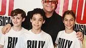 Billy Elliot Meet and Greet - Elton John - Trent Kowalik - David Alvarez - Kiril Kulish