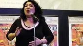 South Pacific CD Signing - Loretta Ables Sayre (singing 2)