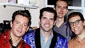 Million Dollar Quartet Photo Op – Million Dollar Quartet cast – Jerry Lee Lewis