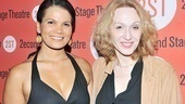 January LaVoy and Jan Maxwell play a therapist and patient in Wings, and the two have a mutual admiration society offstage.