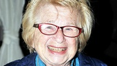 Rain opening night  Dr. Ruth Westheimer