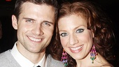 Former Next to Normal cohorts Kyle Dean Massey and Priscilla's Jessica Phillips, who understudied Alice Ripley in Normal.