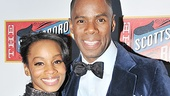 Tony winner Anika Noni Rose is on hand to support her pal Colman Domingo.