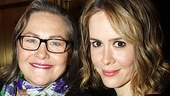 Merchant of Venice Opening night  Cherry Jones  Sarah Paulson