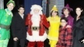 Backstage at Elf with Joe Jonas  Sebastian Arcelus  Joe Jonas  George Wendt  Amy Spanger  Matthew Gumley - Beth Leavel - Ashley Greene 