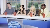 On January 20, Chenoweth added a much needed dose of sweetness to the American Idol panel, where she charmed the famously sour Simon Cowell, became BFF with Kara DioGuardi and matched wits with Randy Jackson.