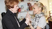 Chenoweth was thrilled to get a hand from one of her comedy icons.