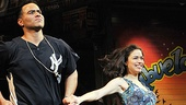 In the Heights Closing Night  Christopher Jackson  Arielle Jacobs