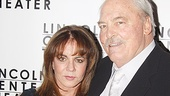 Stacy Keach gets close to his onstage wife, Stockard Channing. Be sure to catch the pair in action in Other Desert Cities today!