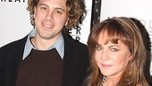 Thomas Sadoski gets close to his onstage mom Stockard Channing for a pretty pic.