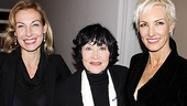 Velmas unite! Chicago veterans Ute Lemper, Chita Rivera (who originated the role of Velma Kelly back in 1975) and Amra-Faye Wright are eager to catch the show from the audience for a change. 